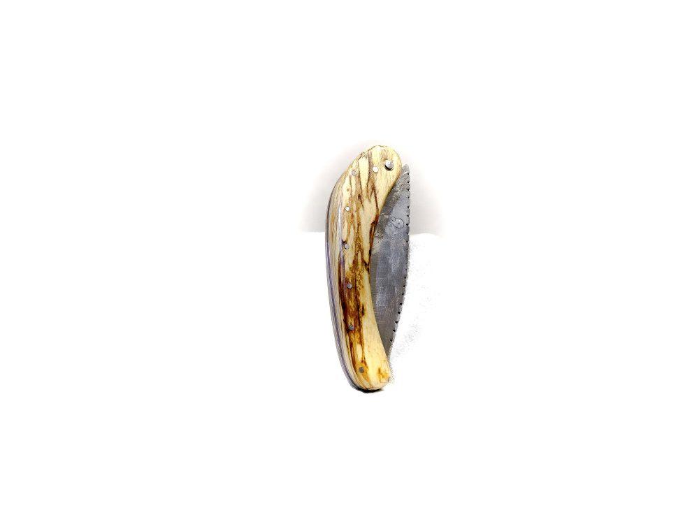 Couteau artisanal en corne de mammouth