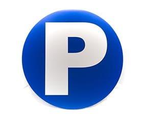 """Panneau """"Parking bleu"""" (Signalétique)"""
