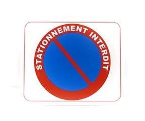"""Panneau """"Stationnement interdit"""" (Signalétique)"""
