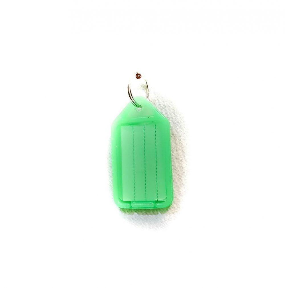 Porte-étiquettes large vert