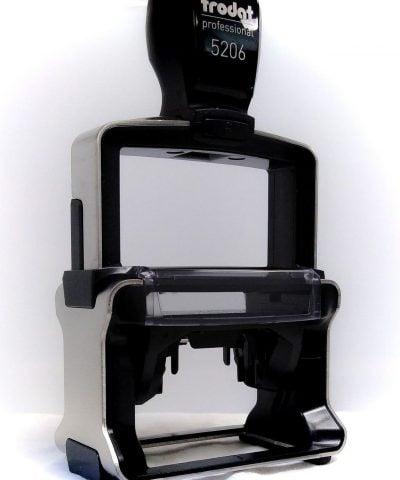 Trodat Pro 5206 noir vue 3/4