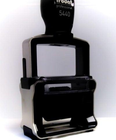 Trodat Pro 5440 noir vue 3/4