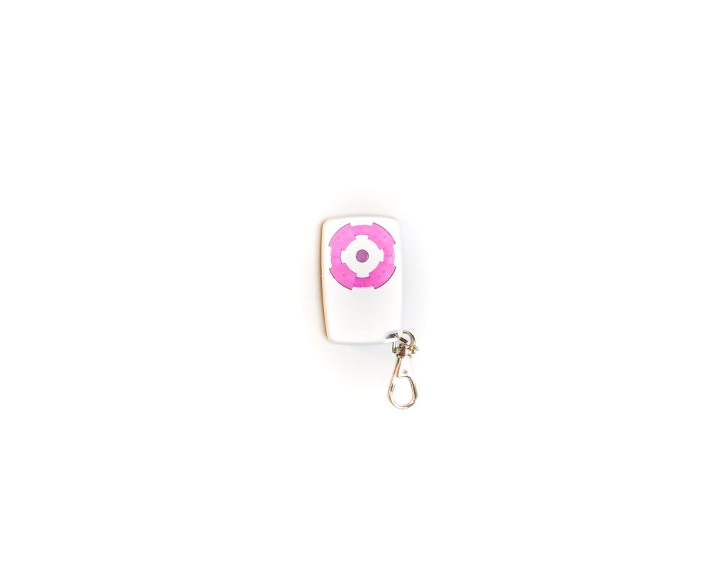 Télécommande électronique portail rose